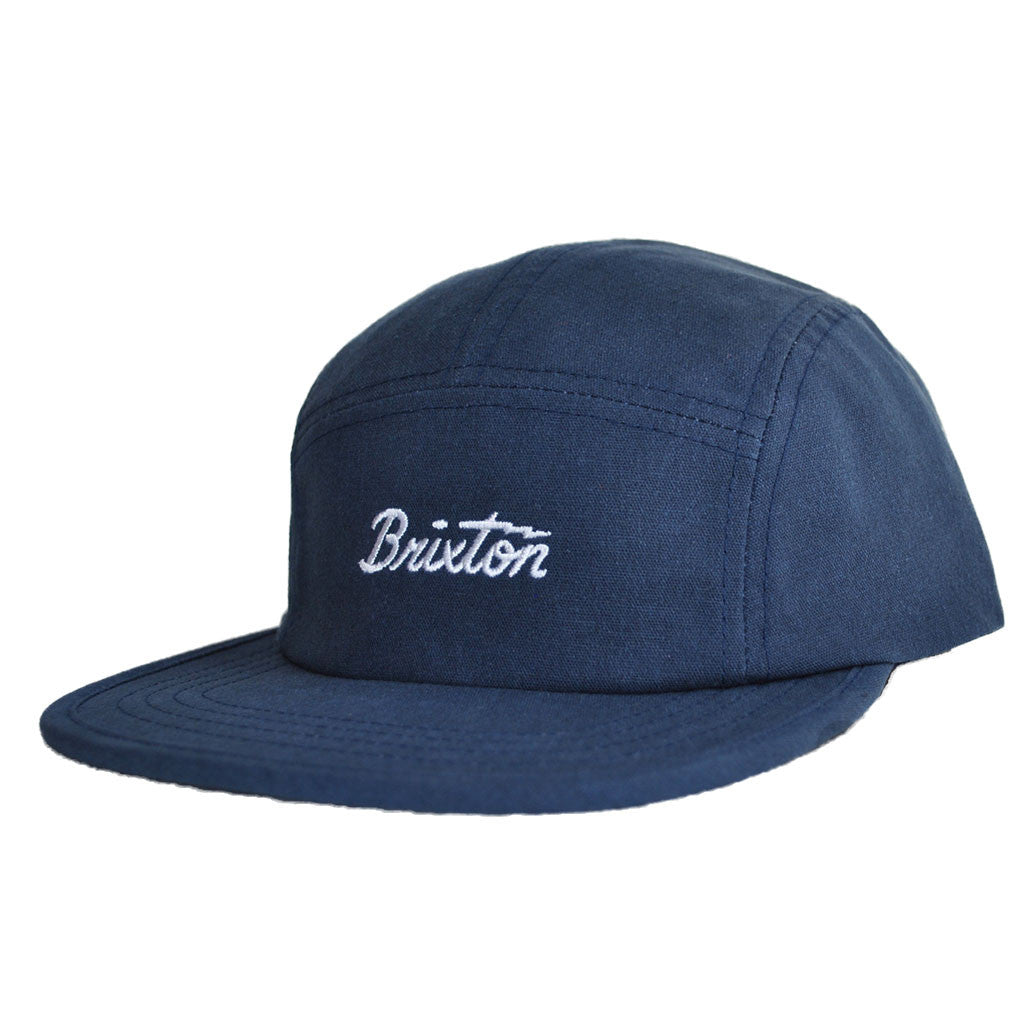 Brixton - Jolt 5 Panel Men's Cap, Indigo - The Giant Peach