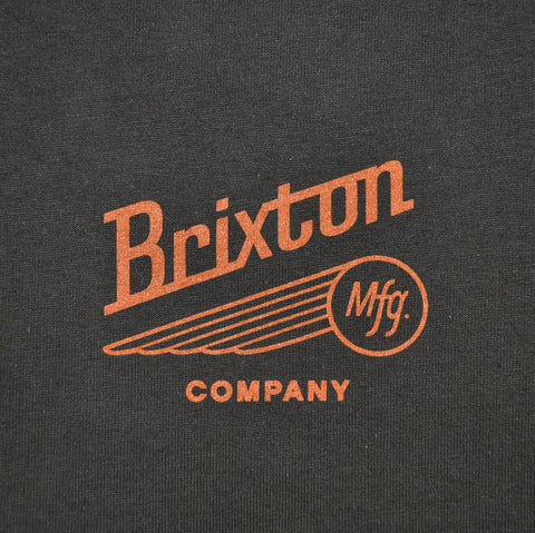 Brixton - Maverick Men's S/S Standard Tee, Black/Rust