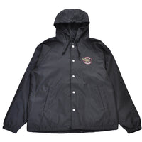 Brixton - Mercury Men's Windbreaker Jacket, Black - The Giant Peach