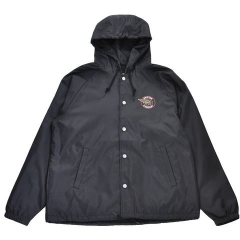 Brixton - Mercury Men's Windbreaker Jacket, Black