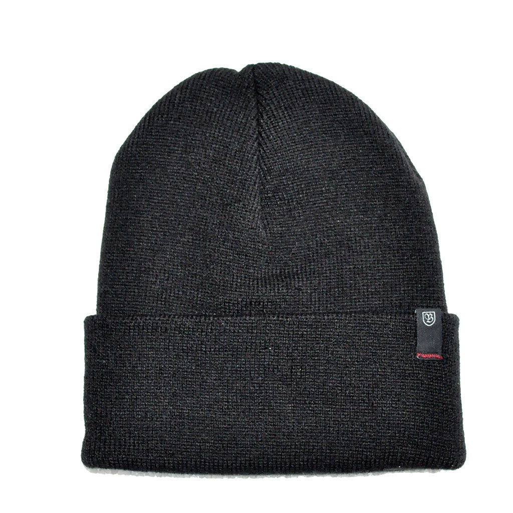 Brixton - Morley Watch Cap Men's Beanie, Black - The Giant Peach