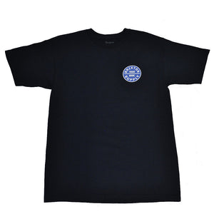 Brixton - Oath Men's S/S Standard Tee, Navy/White - The Giant Peach