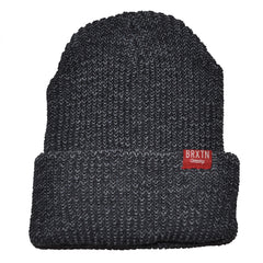 Brixton - Redmond Beanie, Grey/Dark Grey - The Giant Peach