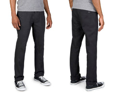 Brixton - Reserve Standard Fit Men's Chino Pants, Black - The Giant Peach