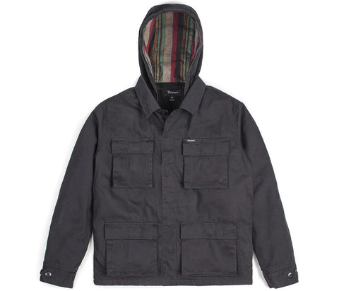 Brixton - Seeker II Men's Jacket, Washed Black