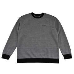Brixton - Trevor Crew Men's Fleece, Heather Grey/Black - The Giant Peach