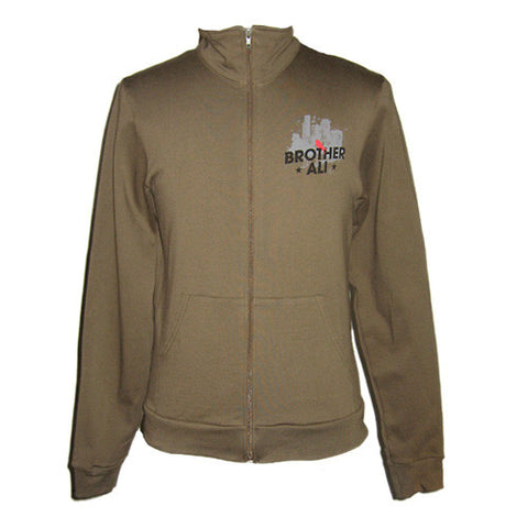 Brother Ali - City Men's Track Jacket, Army Green