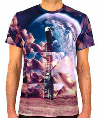 Imaginary Foundation - Builders Sublimation Men's Tee - The Giant Peach