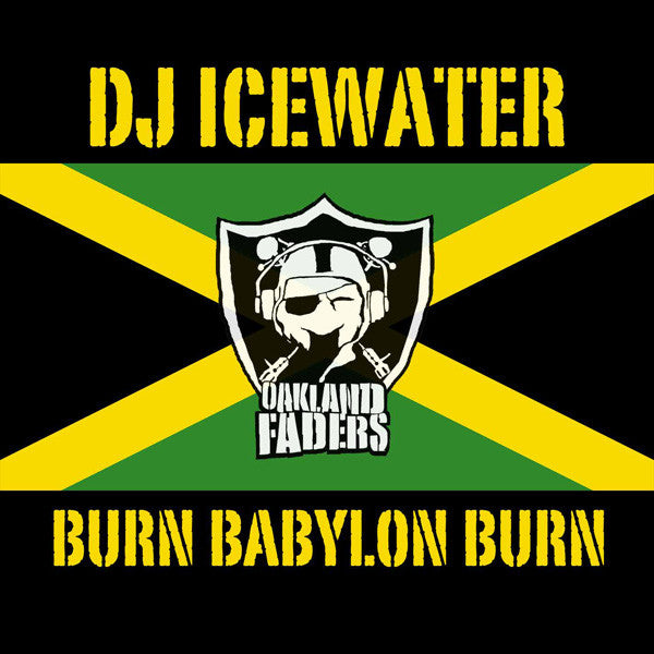 DJ Icewater - Burn Babylon Burn, Mixed CD - The Giant Peach