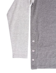 Akomplice -  Button Rag Men's Crew, Grey - The Giant Peach - 3