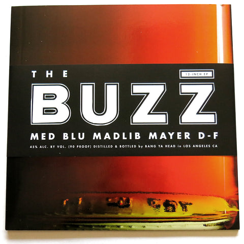 MED, Blu, Madlib, Mayer Hawthorne - The Buzz EP Vinyl - The Giant Peach - 1