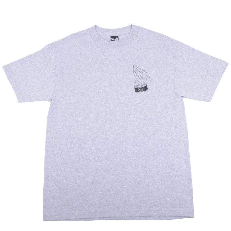 The Quiet Life - Camera Prayer Men's Shirt, Heather Grey - The Giant Peach