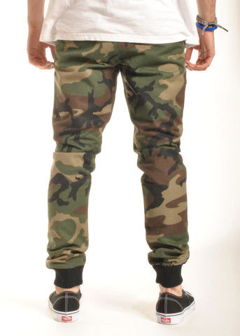 Rustic Dime - Sunset Jogger, Stretch Twill Camo
