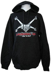 Cannibal Ox - Logo Hoodie, Heather Charcoal - The Giant Peach