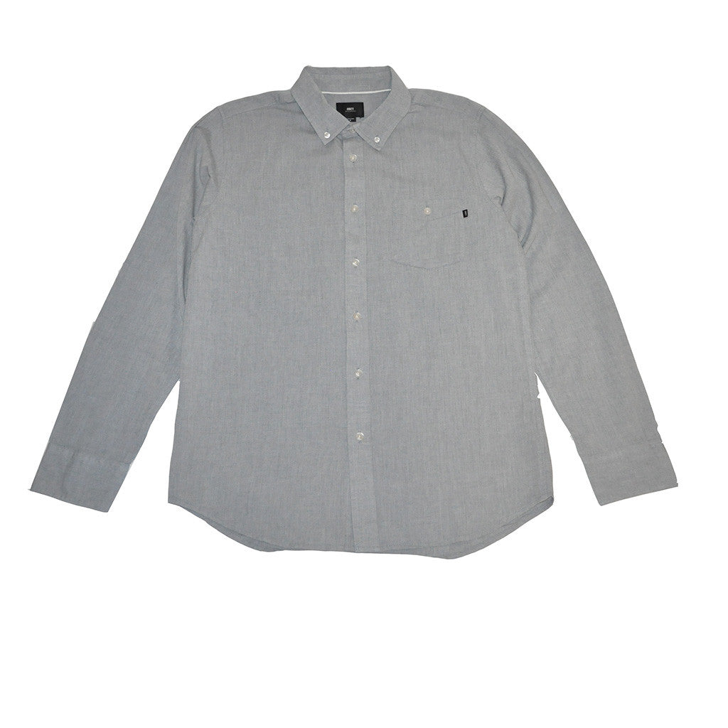 OBEY - Capital Woven Men's Shirt, Grey - The Giant Peach