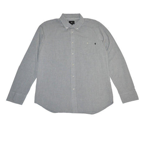 OBEY - Capital Woven Men's Shirt, Grey