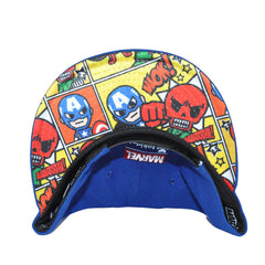 tokidoki - The Captain Snapback Hat, Blue - The Giant Peach
