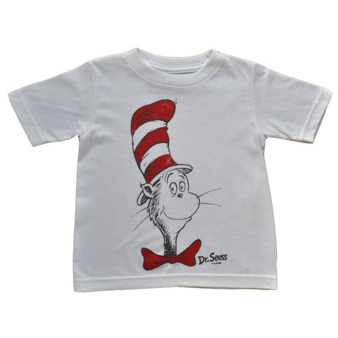 Dr. Seuss - Cat In The Hat Toddler Tee, White
