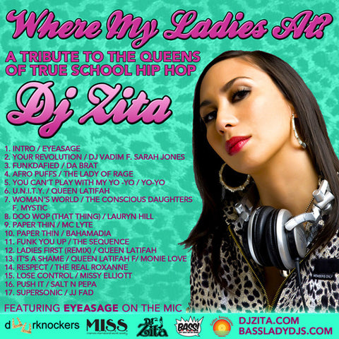 DJ Zita - Where My Ladies At?, Mixed CD