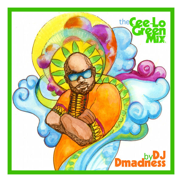 DJ Dmadness - The Cee-Lo Green, Mixed CD - The Giant Peach