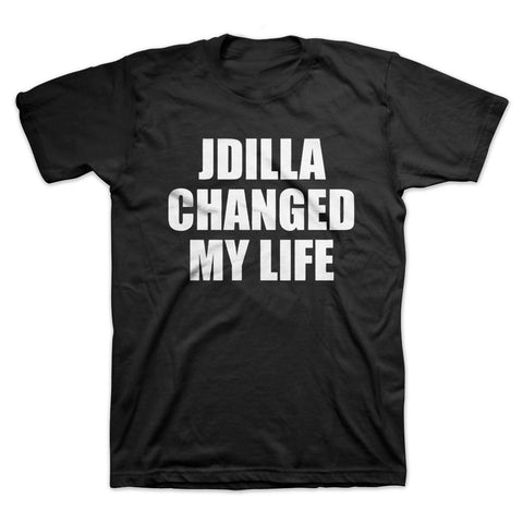 J Dilla - Changed My Life Men's Shirt, Black