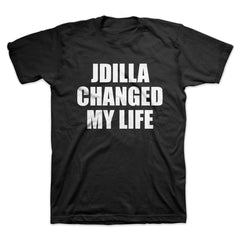 J Dilla - Changed My Life Men's Shirt, Black - The Giant Peach
