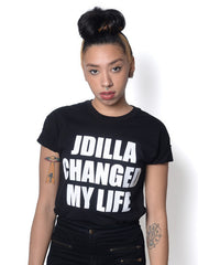 J Dilla - Changed My Life Men's Shirt, Black - The Giant Peach - 2