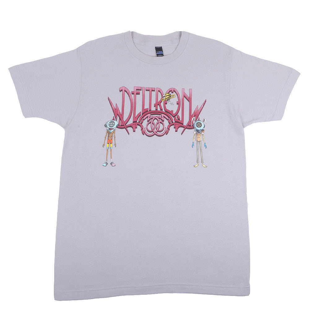 Deltron 3030 - Characters Men's Shirt, Silver - The Giant Peach