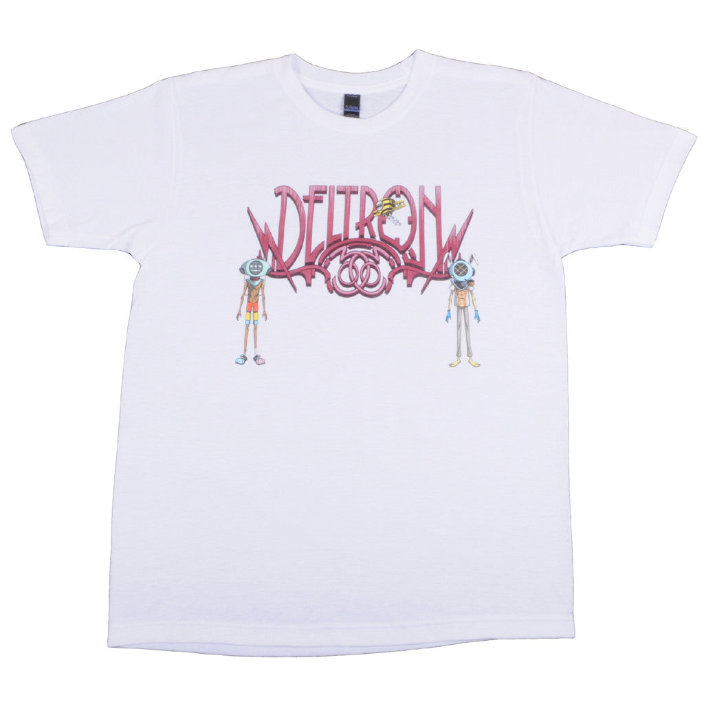 Deltron 3030 - Characters Men's Shirt, White - The Giant Peach