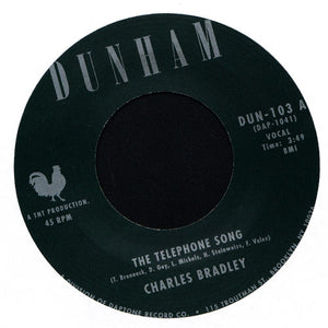 "Charles Bradley - The Telephone Song  7"" Vinyl - The Giant Peach"