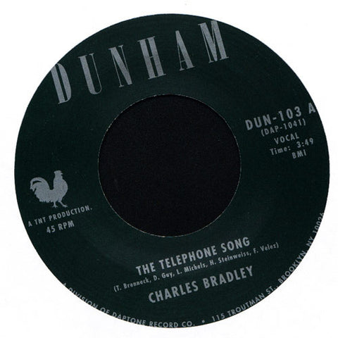 "Charles Bradley - The Telephone Song b/w Menhahan Street Band Tired Of Fighting, 7"" Vinyl"