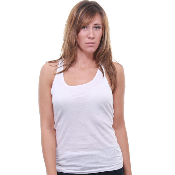 Cheap Monday - Racer Women's Tank Top, White - The Giant Peach