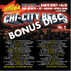 Mass Hysteria - Chicago UnderWorld Vol. 2, CD + Bonus Chi-City Beats - The Giant Peach - 2