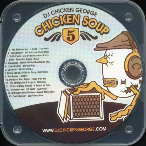 DJ Chicken George - Chicken Soup 05, Mixed CD - The Giant Peach