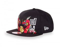 tokidoki - Chinatown Snapback Hat, Black - The Giant Peach