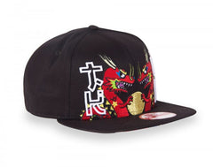 tokidoki - Chinatown Snapback Hat, Black - The Giant Peach - 5