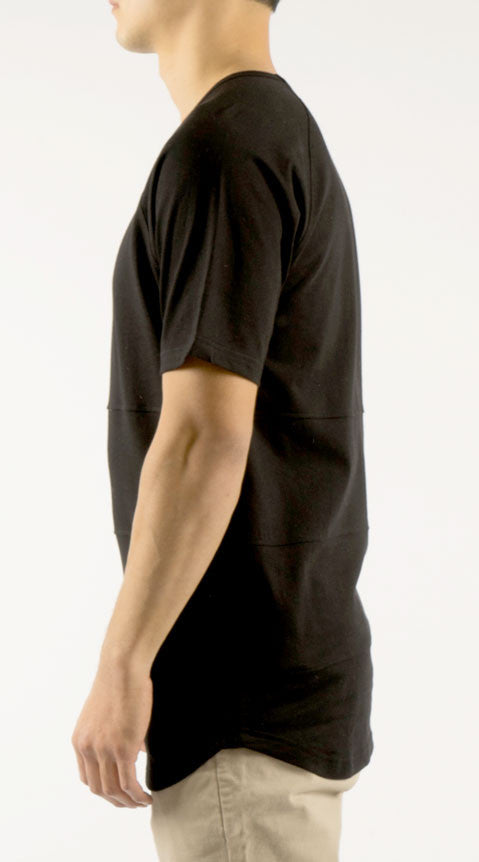 Akomplice - Chop Men's Tee, Black - The Giant Peach