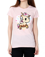 tokidoki - Ciao Bella Women's Tee, Pink - The Giant Peach
