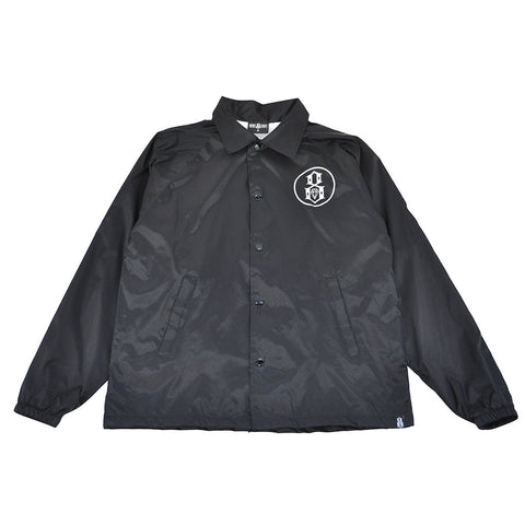REBEL8 - Circle 8 Men's Coaches Jacket, Black