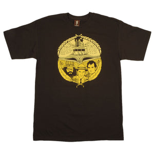 SuperFishal (Jeremy Fish) - The Beats Men's Shirt, Brown - The Giant Peach