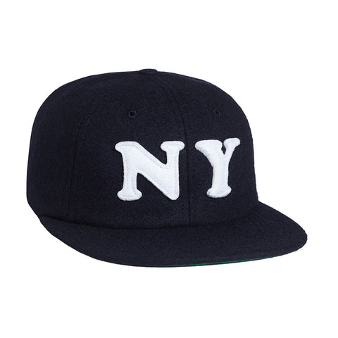 HUF - City (New York) 6 Panel Hat, Navy