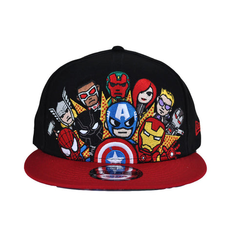 tokidoki - Civil War Snapback Hat, Black