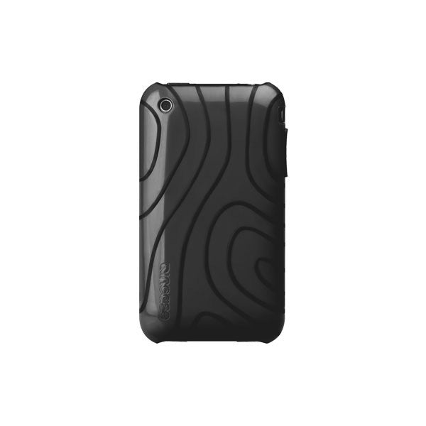 Incase - iPhone 3GS Topo Flex Case (w/ S Stand), Dark Gray/Black - The Giant Peach - 2
