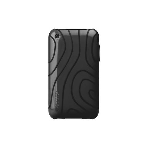 Incase - iPhone 3GS Topo Flex Case (w/ S Stand), Dark Gray/Black