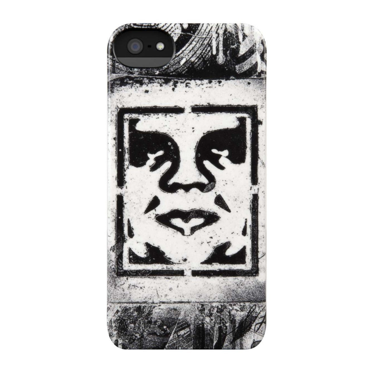 Incase x Shepard Fairey - Icon Stencil Case for iPhone 5 - The Giant Peach - 1