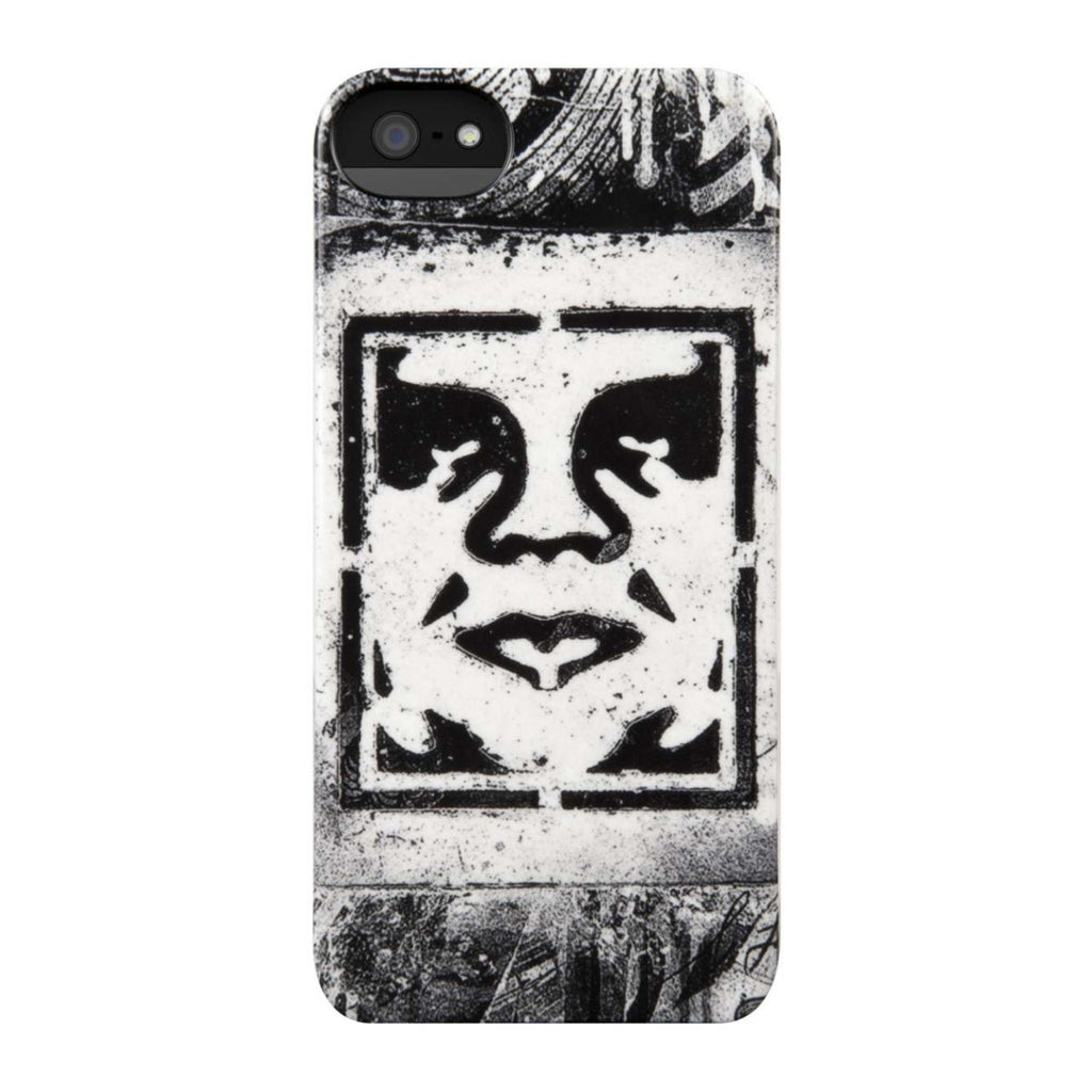 Incase x Shepard Fairey - Icon Stencil Case for iPhone 5 - The Giant Peach