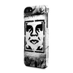 Incase x Shepard Fairey - Icon Stencil Case for iPhone 5 - The Giant Peach - 2