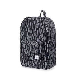 Herschel Supply Co. - Classic Backpack, Black/White Rain Camo - The Giant Peach