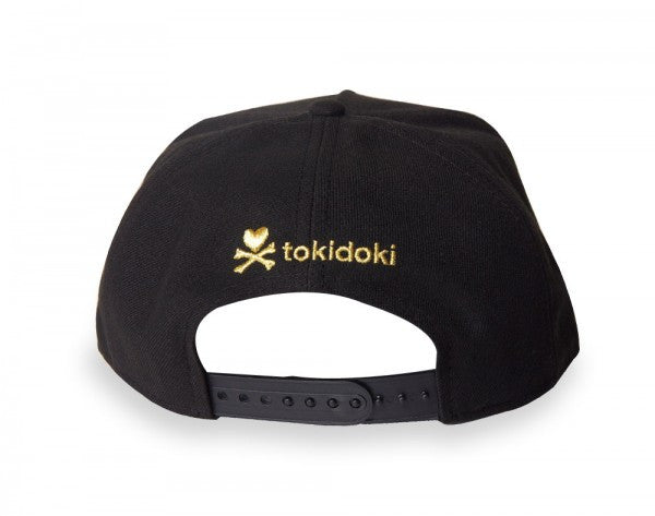 tokidoki - Cleo Snapback Hat, Black - The Giant Peach - 4