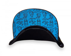 tokidoki - Cleo Snapback Hat, Black - The Giant Peach - 2